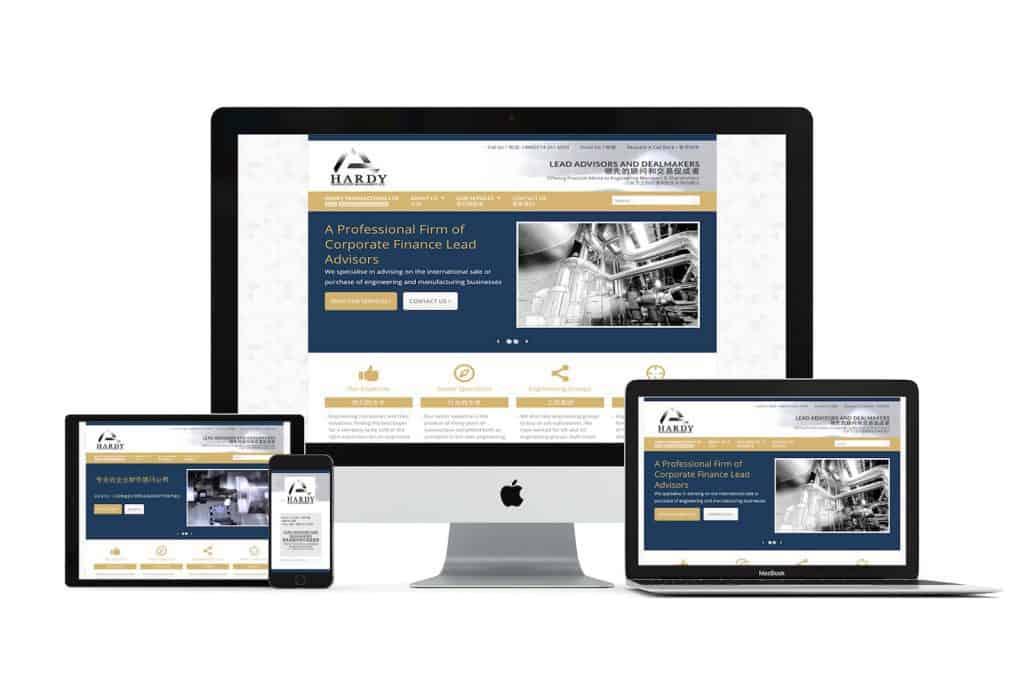 Hardy Transaction Management Web Design Sheffield