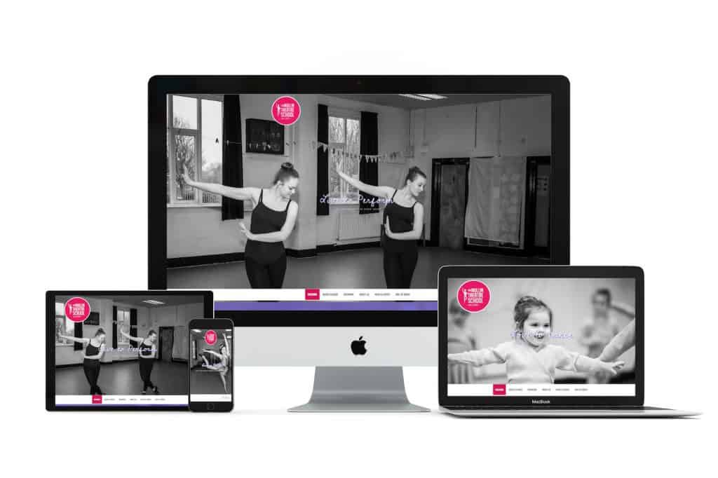 Mullin Theatre School Web Design Blackpool