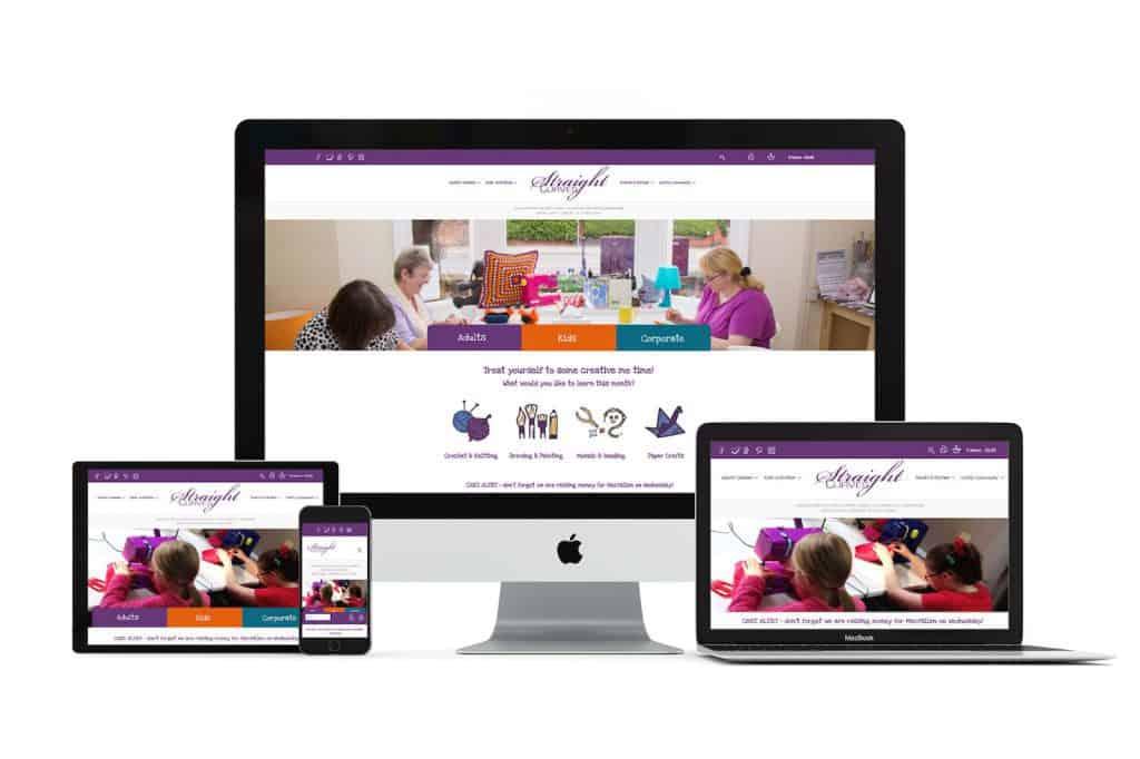 StraightCurves Web Design Chesterfield