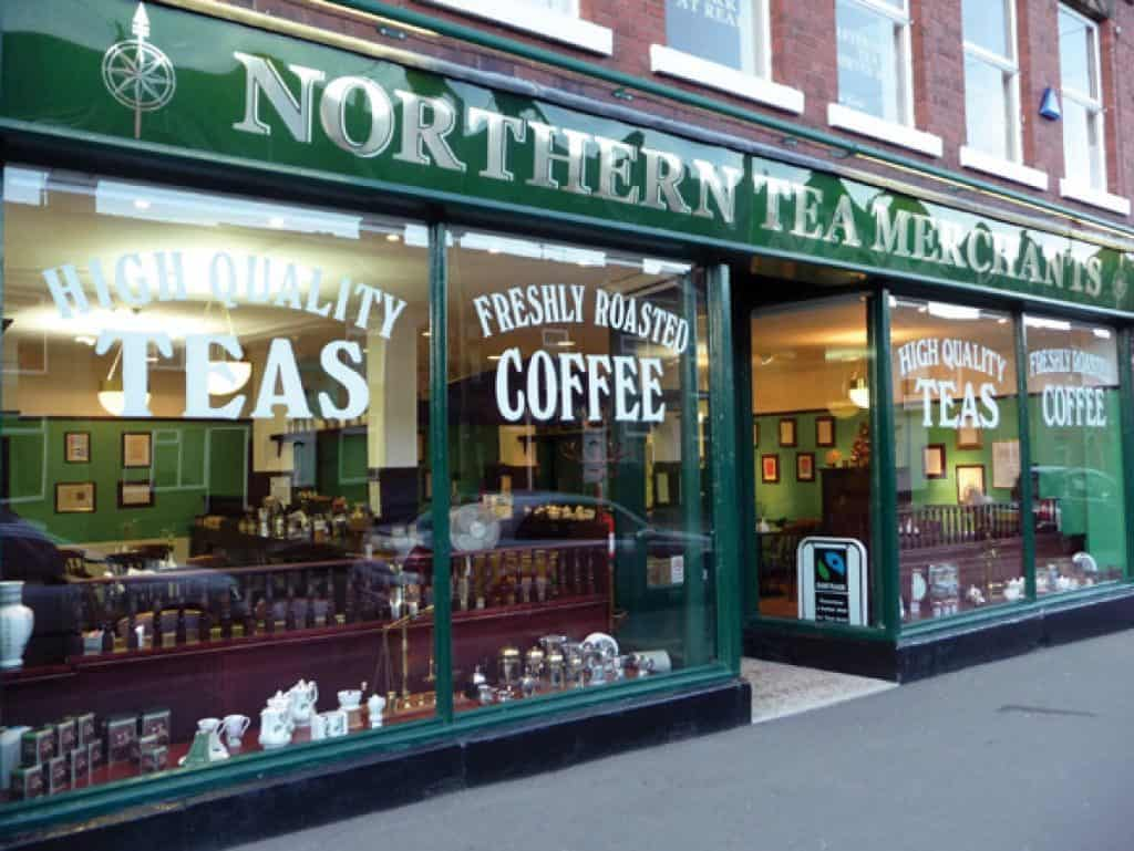 northern tea merchants on chesterfield high street