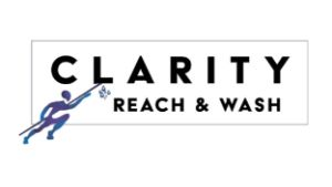 clarity reach & wash logo