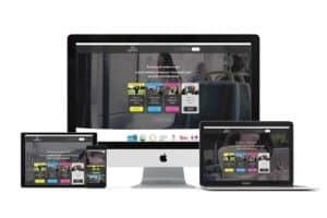 infused learning web design mockup
