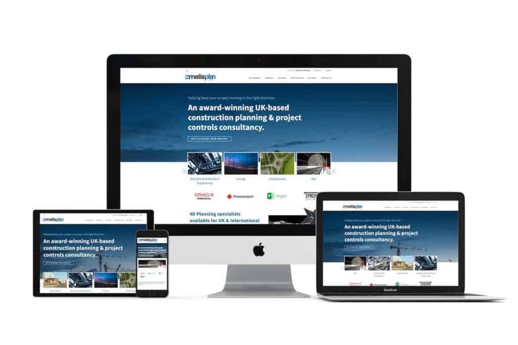 metisplan website design by creative asset