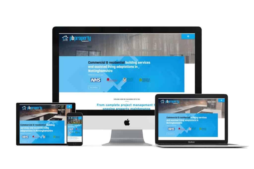 pb property web design