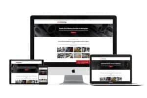 web design for shot blasting company