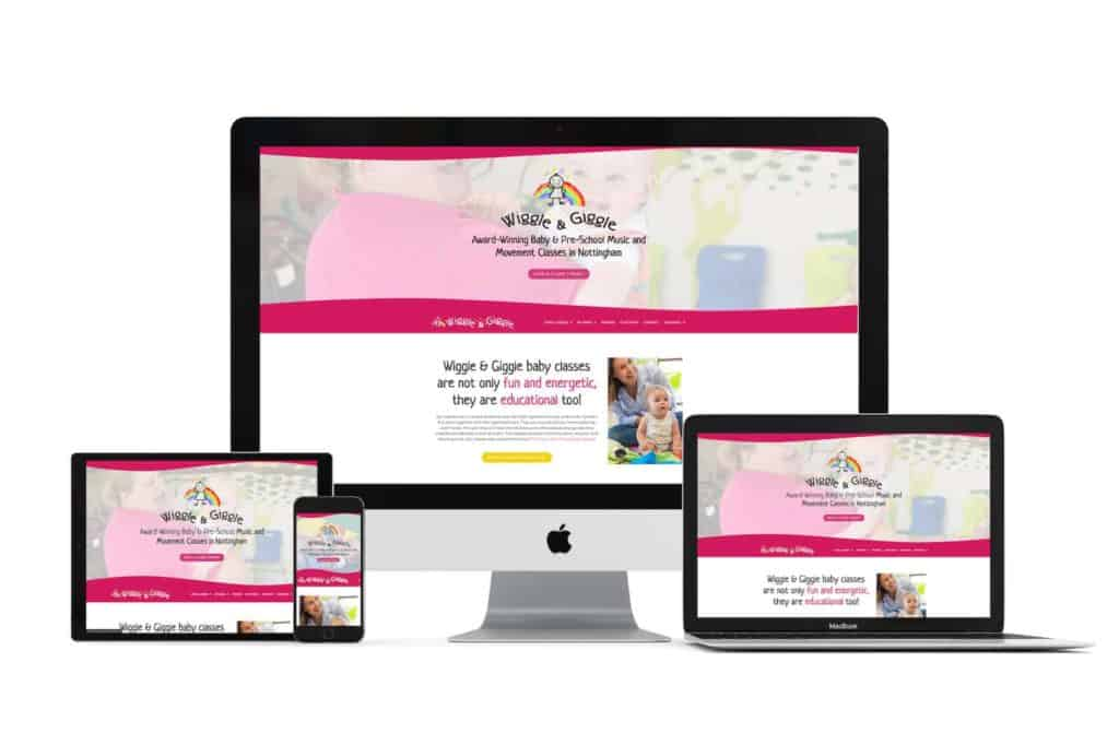 wiggle website design