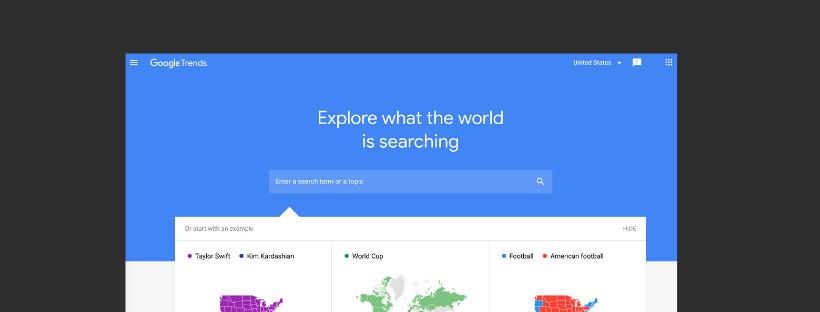 using google trends