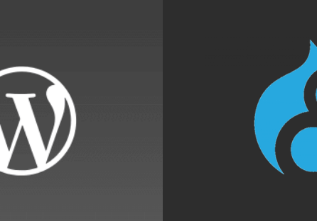 2 leading cms systems, drupal and wordpress