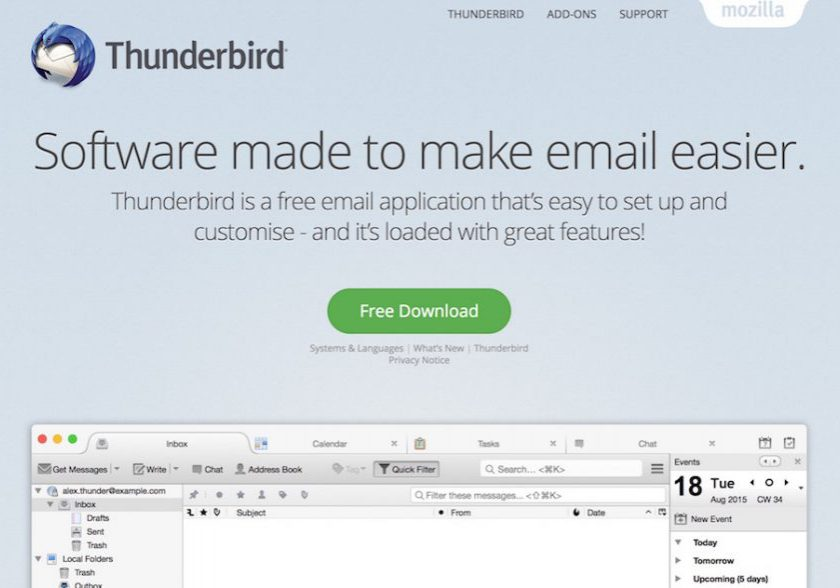 Migrate Emails Using Thunderbird